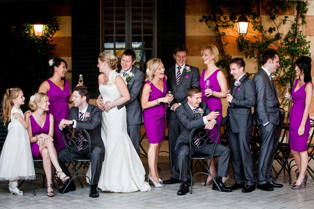 Lake Como wedding - Bridal Party