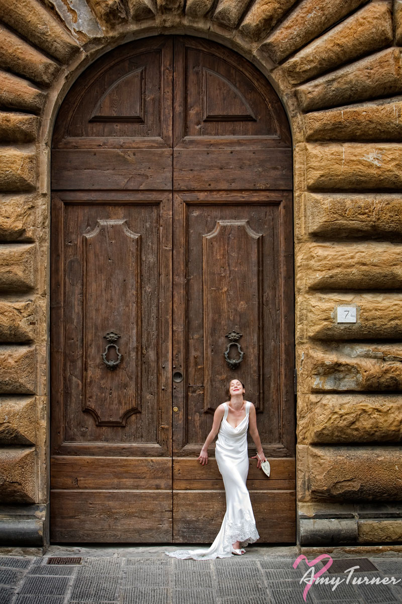 Florence/Firenze Wedding - Bride