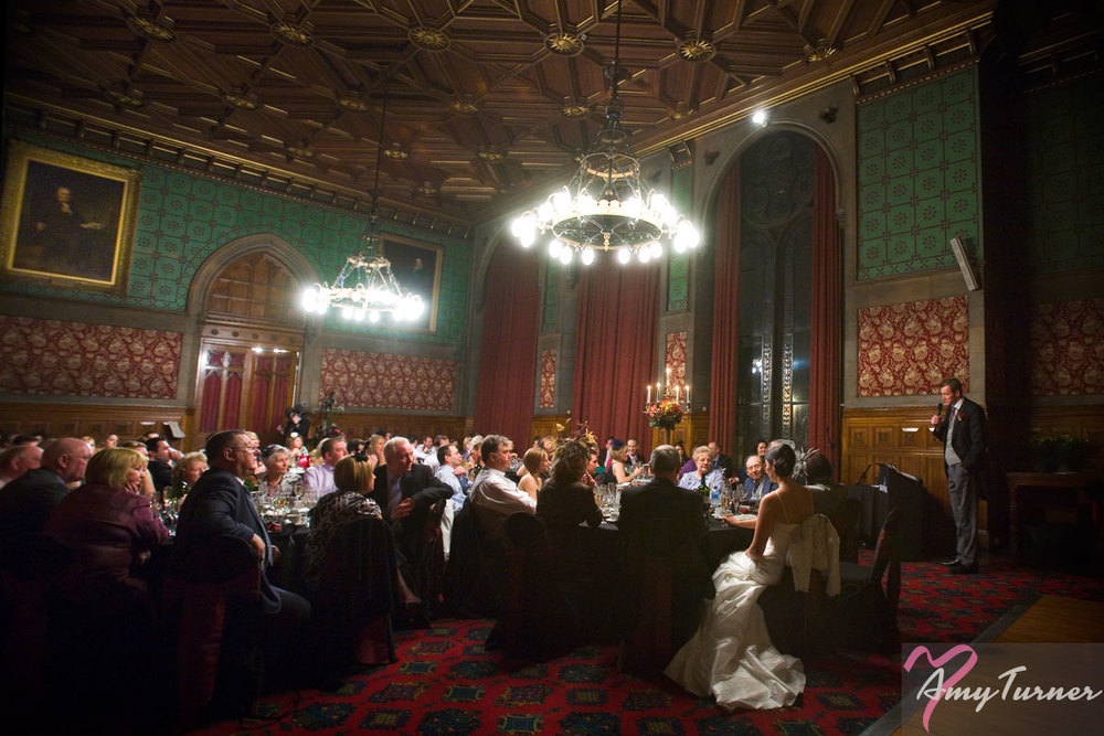 Manchester Town Hall wedding - Speeches