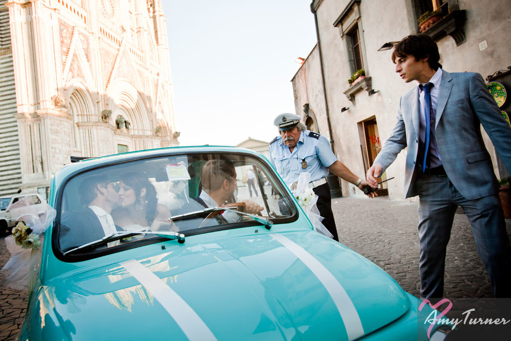 Orvieto Wedding - Bride & Groom