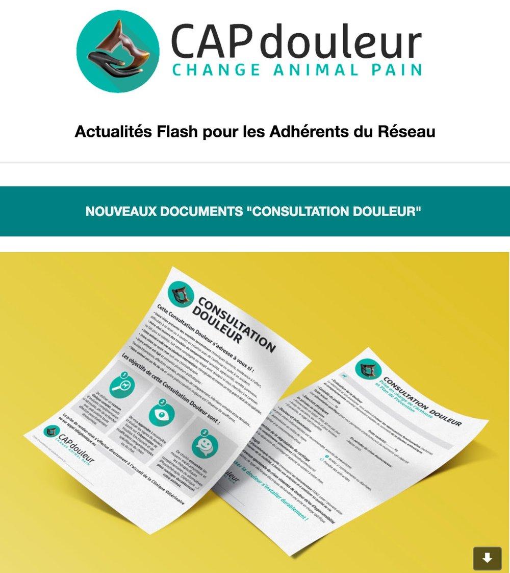 ACTUALITES FLASH DES ADHERENTS JANVIER 2016