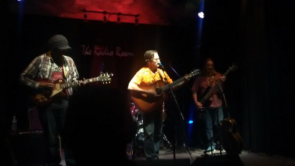 The Navigators perform at the KAFM Radio Room
