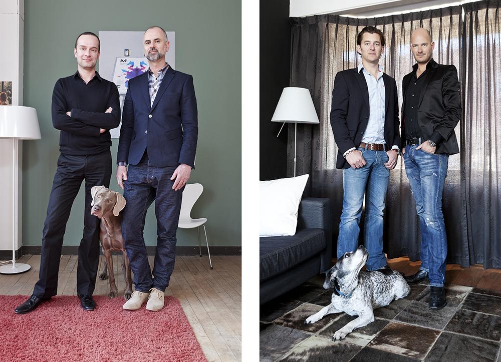 'Homo's met Honden' NRC Lux