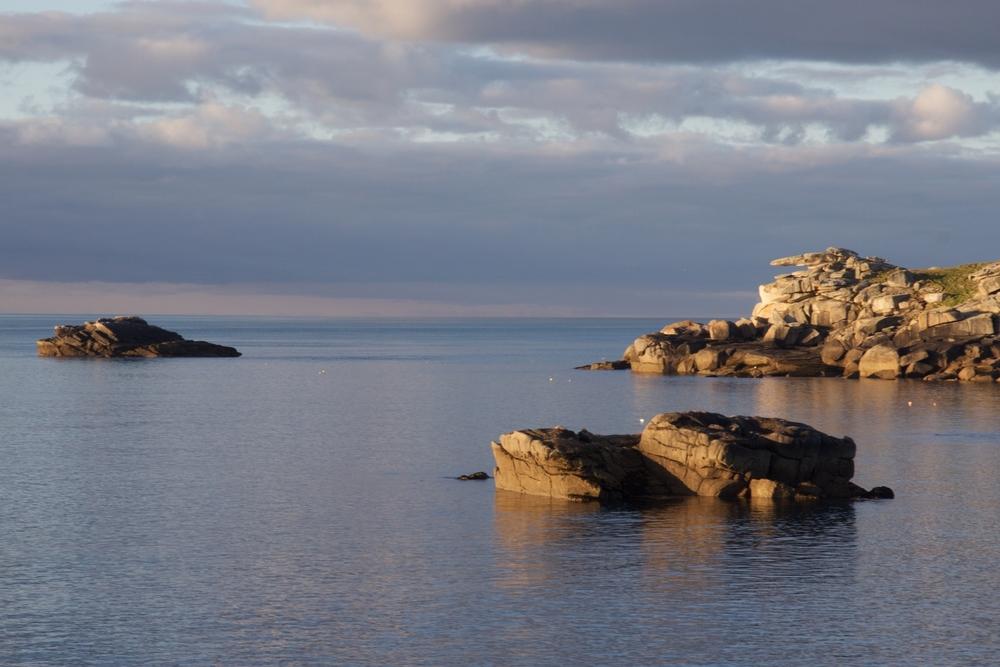 Enjoy fantastic evening views of Pulpit Rock.