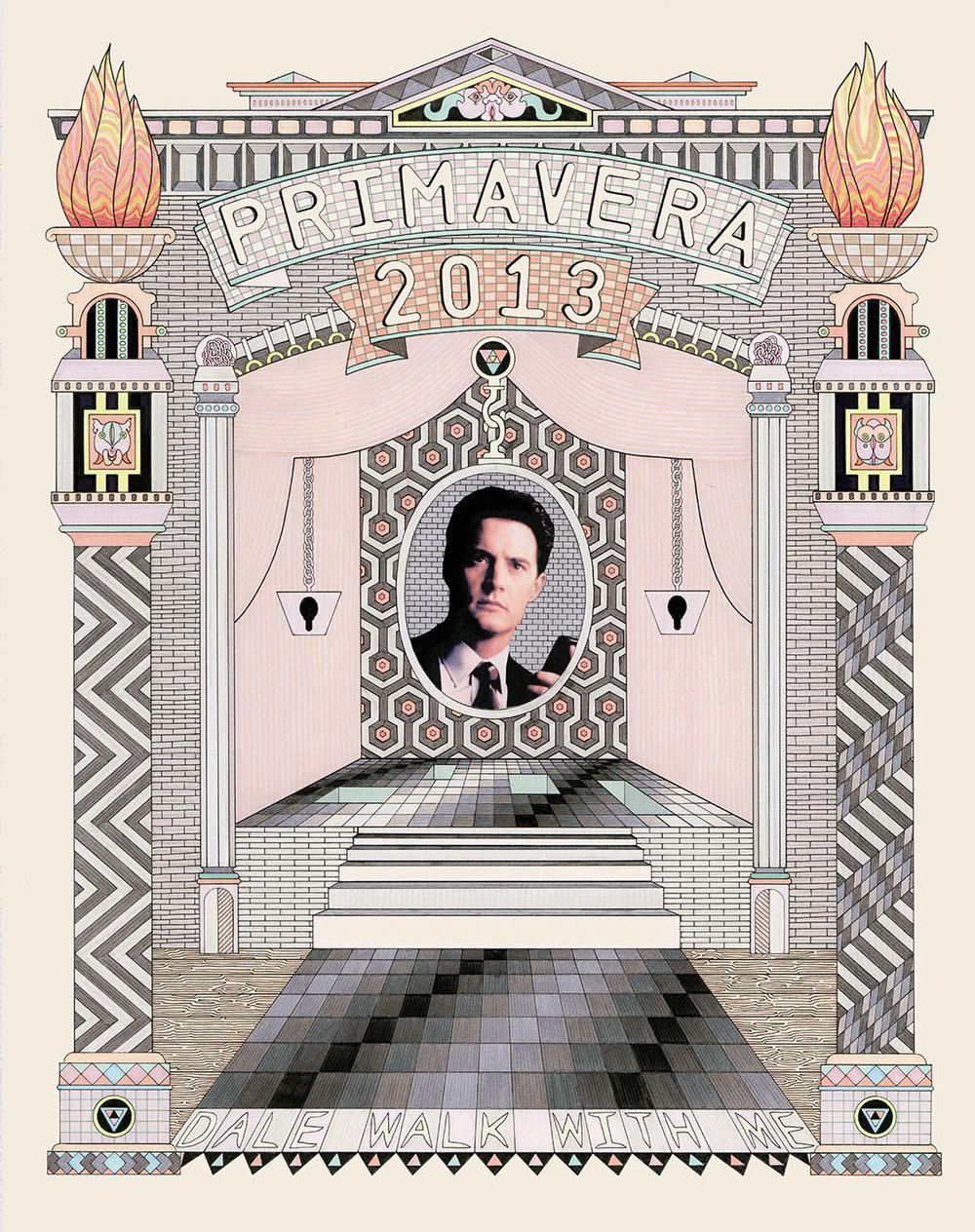 Cover for Primavera exhibition catalogue, 2013