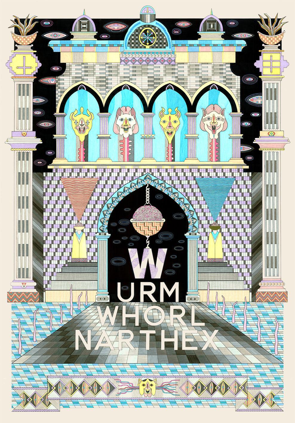 Wurm Whorl Narthex, 2013
