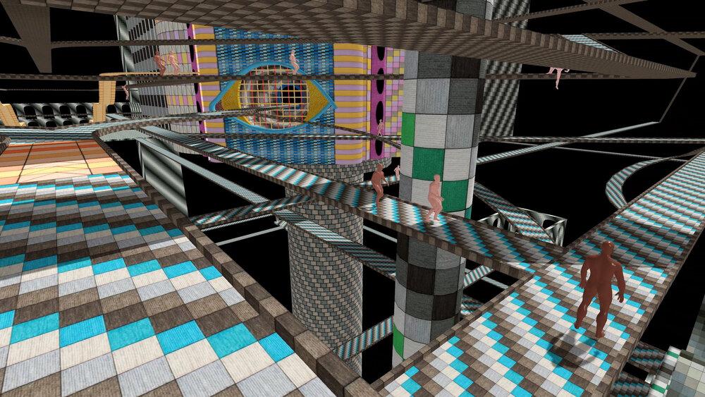 Fleshold Crossing (VR Still), 2018