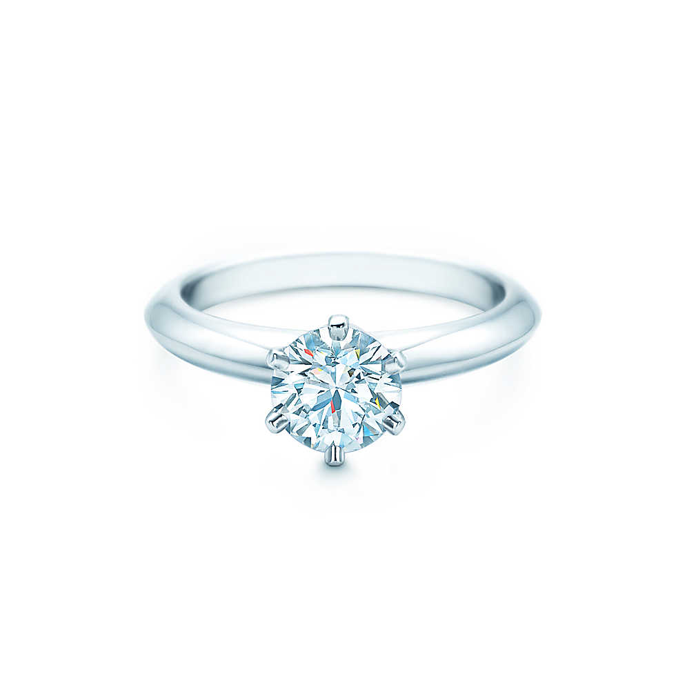 Signature Tiffany Setting courtesy of Tiffany & Co.
