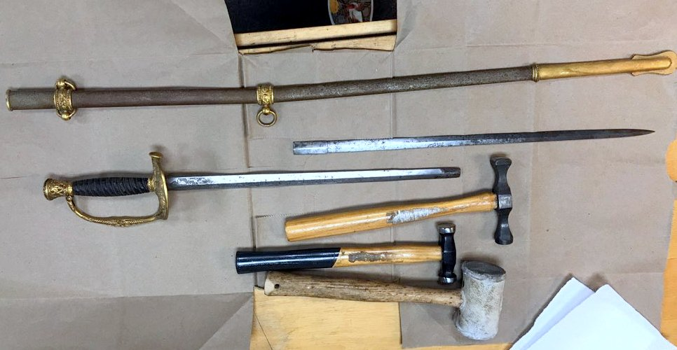 Tiffany & Co. Sword in need of repair