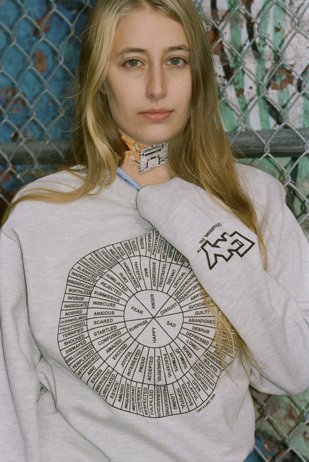 FEEL WHEEL CREWNECK === *****CNY X LUKE TODD COLLABO*****