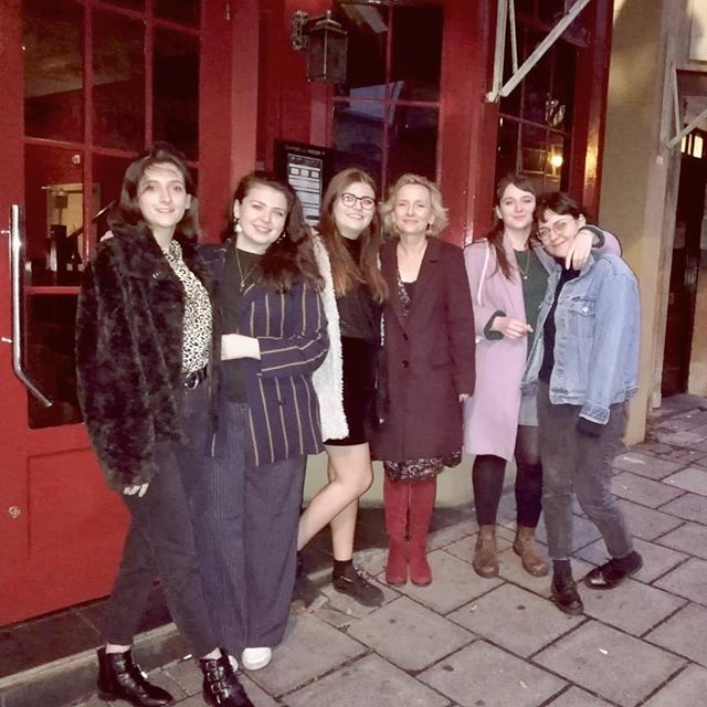 The Brew Crew had a fantastic Christmas party at @danslenoirlondon earlier this month! We enjoyed a delicious three course dinner served in a pitch black dinning room! If you haven't heard of @danslenoirlondon before please check what they are about💗 A must have experience! #londonfood #christmasparty #darkdinning #danlenoir