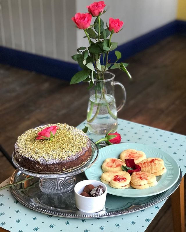 Want to share the love? ❤️ Why not buy a bag of socially responsible coffee  @redemptionroasters or @girlswhogrindcoffee from us?  Whether it's Valentines or Galentines we have  Persian Love Cake 🌷 Strawberry Jam Heart Biscuits 🍓and Rum Filled Vegan Truffles along with our regular lunch menu.  Try our Açai Berry Prosecco cocktails 🍹 with a main meal or our 2 for 1 offer on our gorgeous Coffee Cocktails £6.50 Whats's not to love? 🤷‍♀️ #coffee#coffeecocktails  #espresso#espressomartini  #cafe#newcross#newcrossgate  #bar#valentines#galentines  #acai#persian#vegan#vegetarian#❤️