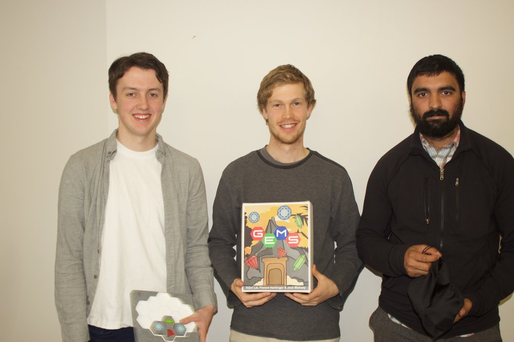 From left to right: Jack Mahody, Florent Herbinger, & Arjun Lal
