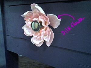 Silk Flower Accent