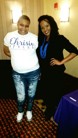 With Chrisie Founder/Owner of Chrisie Styles Boutique