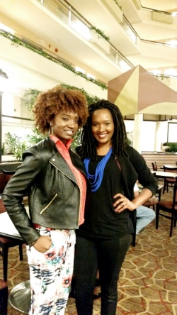 With Hair, Fashion, Beauty Queen  Janae  nae2curly