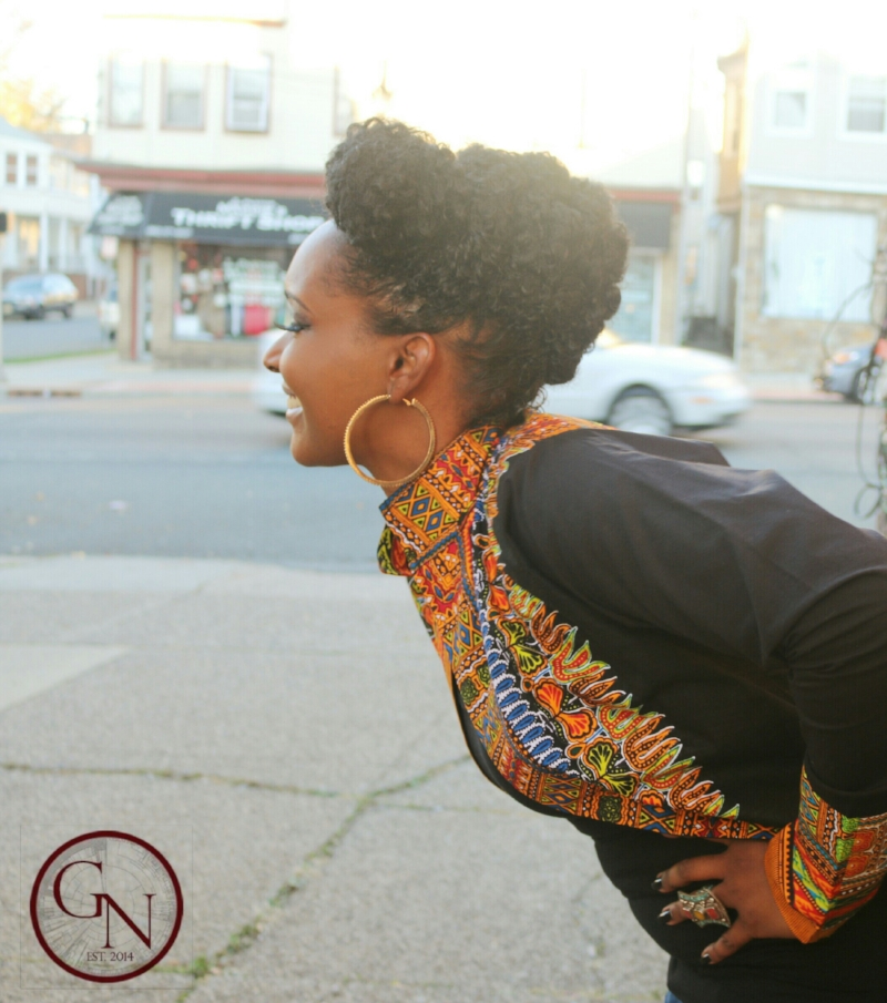 African Print Dashiki Outfit