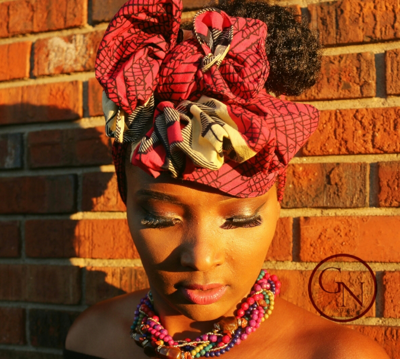 Kente Fabric African Style Head wrap