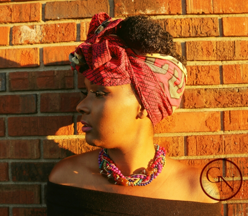 Kente Style Traditional African Style Head wrap