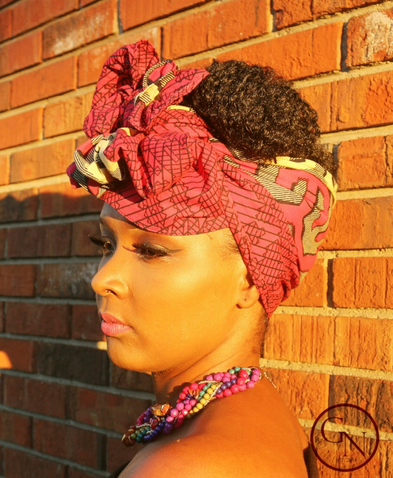 Traditional African Style Head wrap