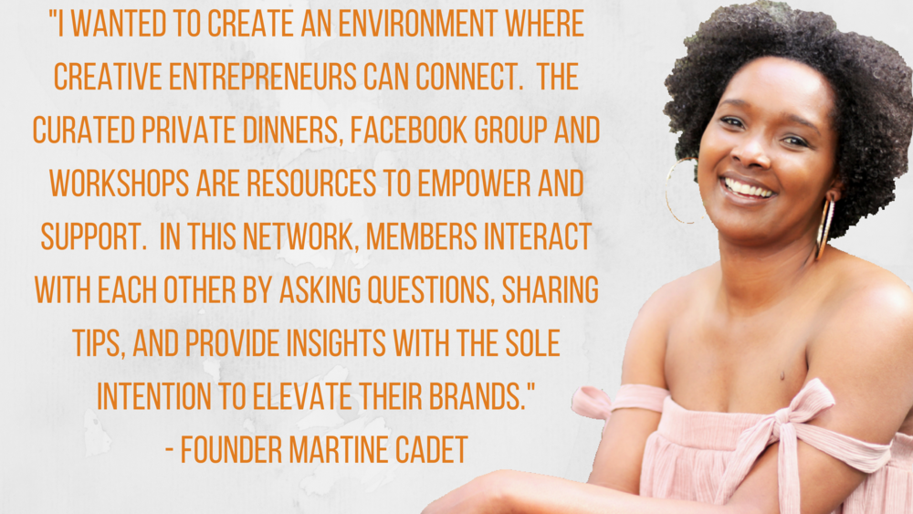 Martine Cadet Founder of Kaderique