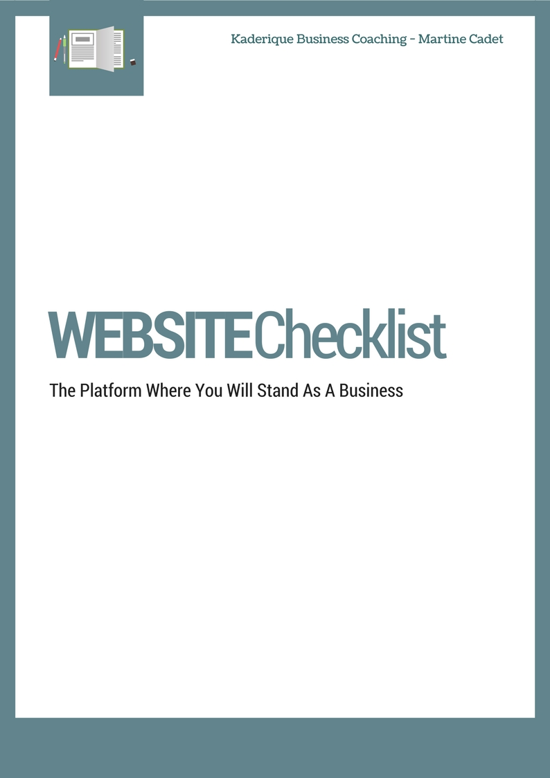 Your website is the platform where you will stand as a business.  Here are the simple steps you can take to the perfect website.