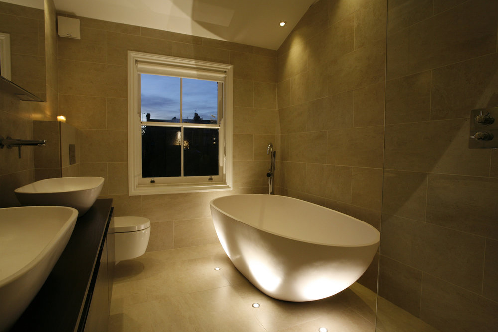 Sian Baxter Lighting Design - residential example - www.sianbaxterlighting.com