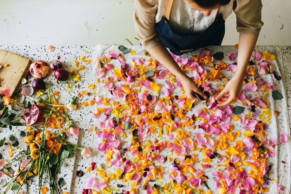 Plant Matter + Fabric