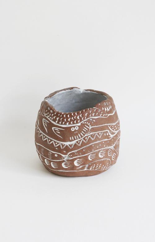 Creature Coil Pot $96