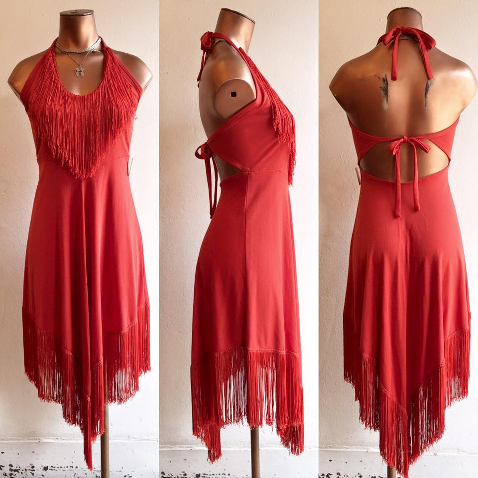 Highway Robbery Vintage Red Dress.jpg