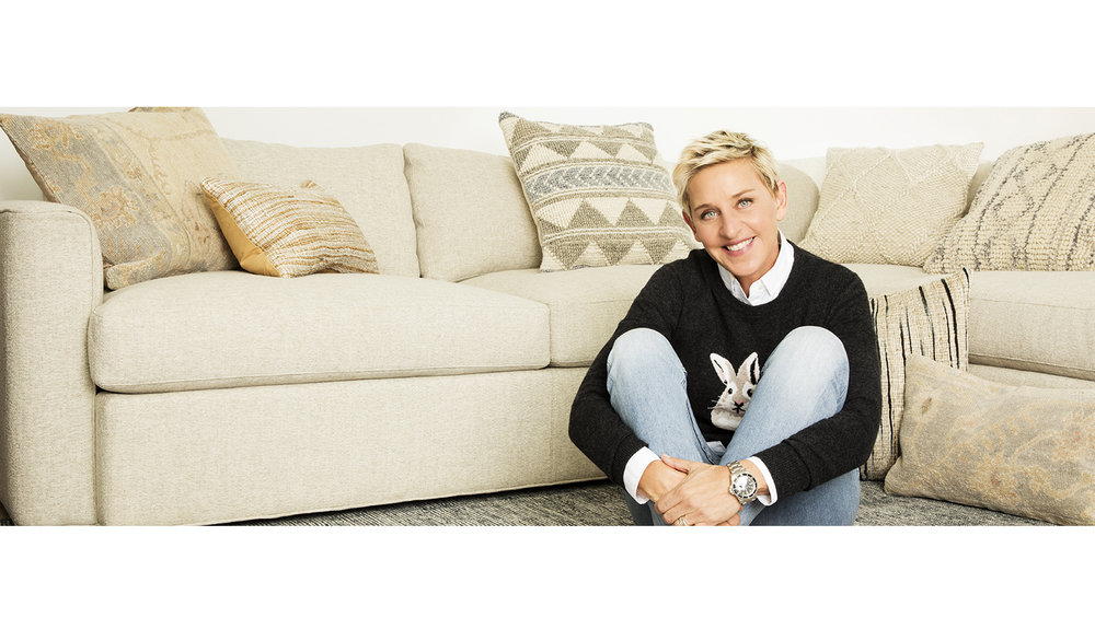 COLLECTION DE COUSSINS ED DE ELLEN DEGENERES
