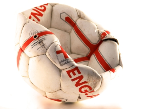England 's soccer failures summed up in one ball - @Doug88888