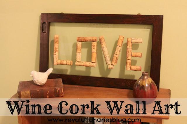 Wine Cork Wall Art — Revolutionaries Market