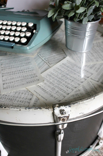 Repurposed Furniture: Turn a Bass Drum into a Coffee Table!