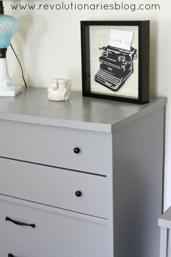 Before and After: The Bassett Mid-Century Dressers!