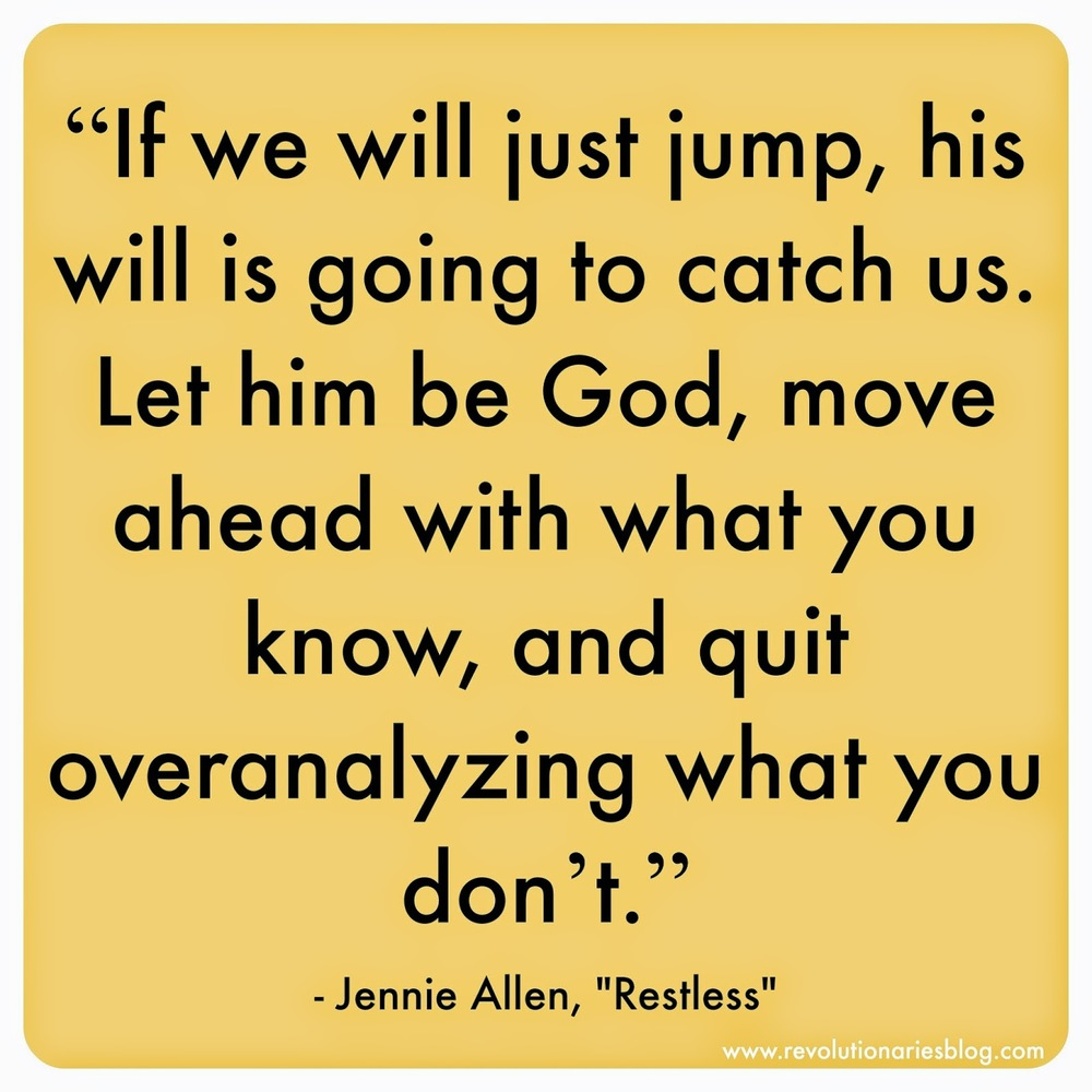 """Restless"" by Jennie Allen: 4 Quotes That Helped My Heart"