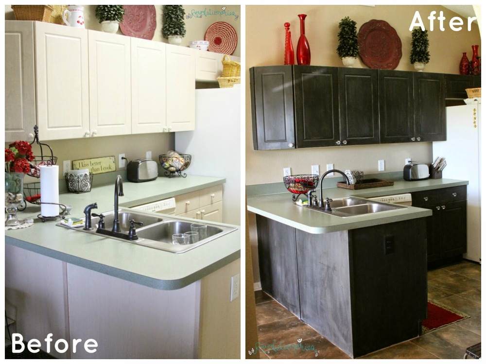 Chalk Paint Kitchen Cabinets Before And After. Chalk Paint Kitchen Cabinets  Mom s Redo
