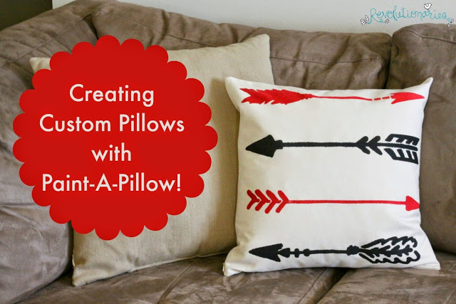Creating Custom Pillows with Paint-A-Pillow (+ a Giveaway)!