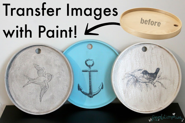 DIY Decor: How to Do an Image Transfer with Paint!