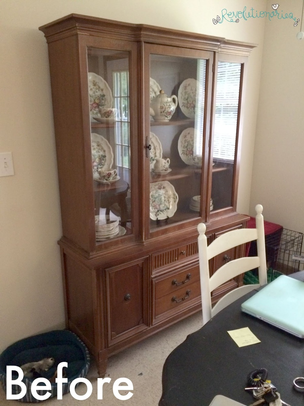 Best Before and After: Repurpose a China Cabinet into an Entertainment  AN51
