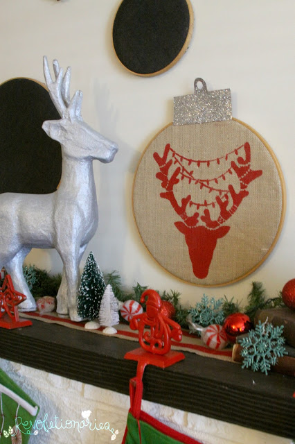 DIY Christmas Decor with Cutting Edge Stencils