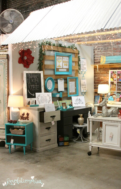 Christmas Craft and Furniture Booth 2015