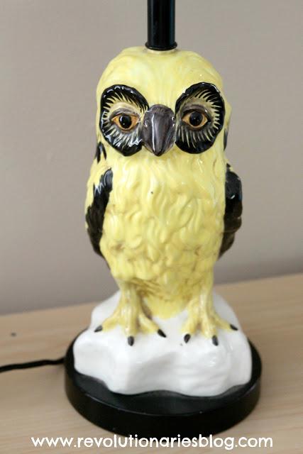 Owl Lamp Redo