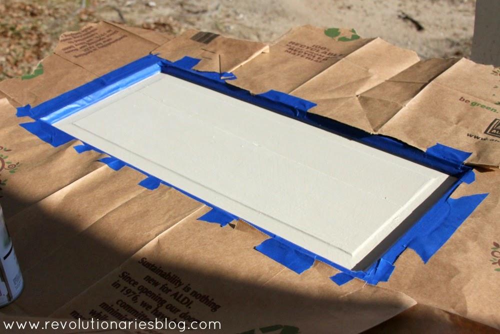 DIY Decor: A Fun Chalkboard Door (with a shelf!)