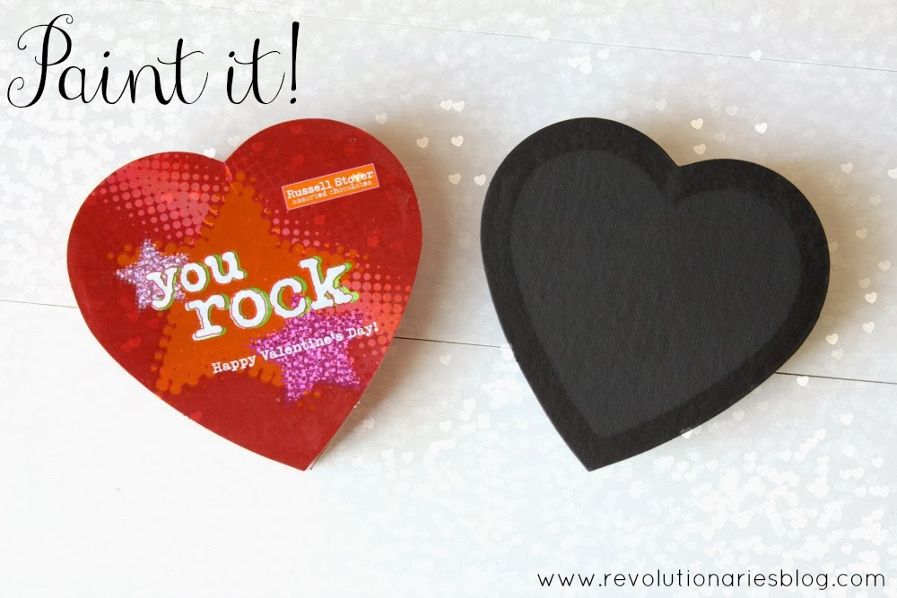 Chalkboard Art: How to Recycle Chocolate Boxes into Cute Chalkboards