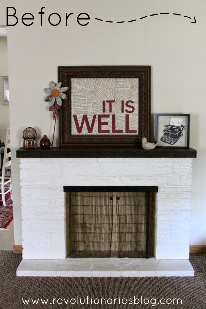 Mantle Ideas: Adding a Bit of Color!