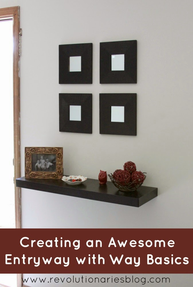 Creating an Awesome Entryway with Way Basics
