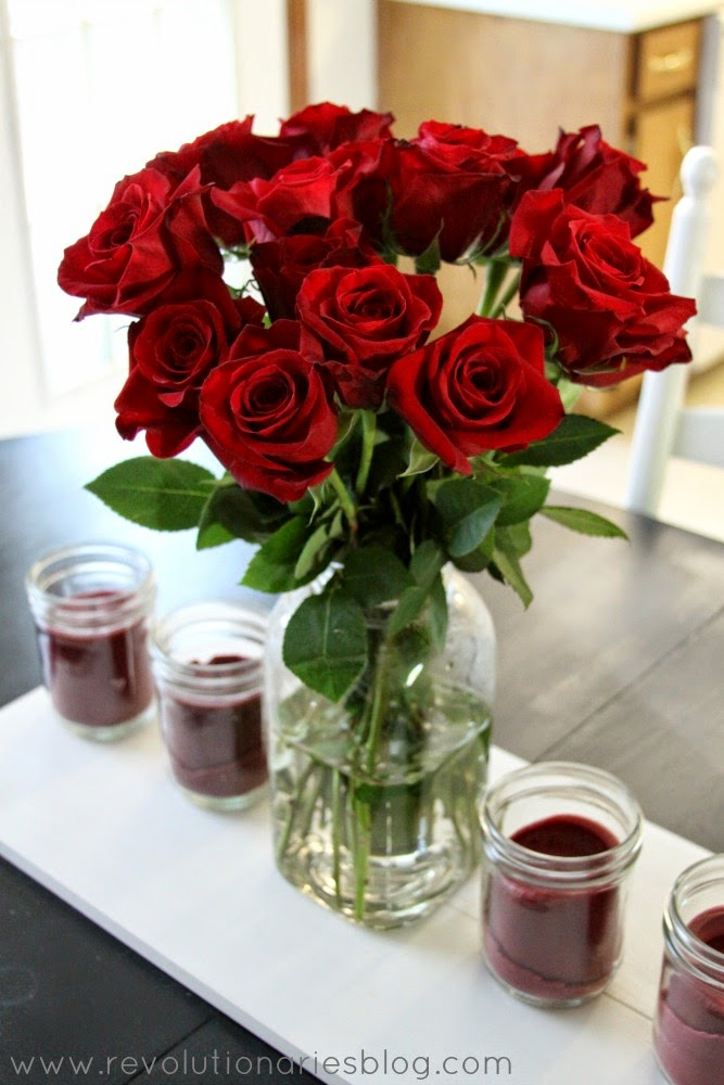 "DIY Centerpiece Ideas: ""Custom"" Mason Jar Candles and The Bouqs Flowers!"