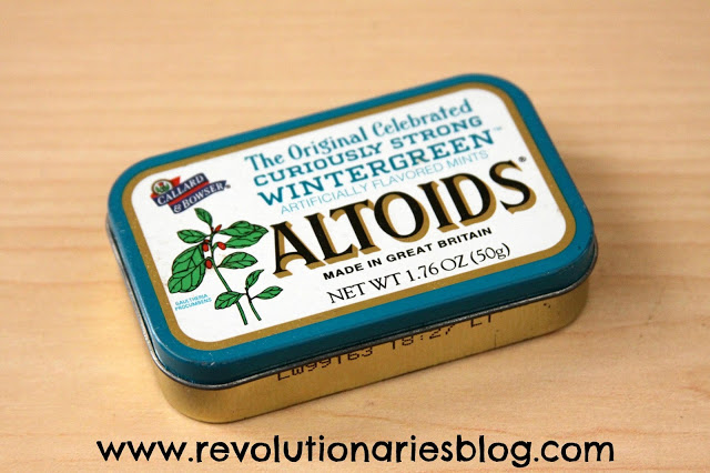 Altoid Tin Business Card Holder for Dad