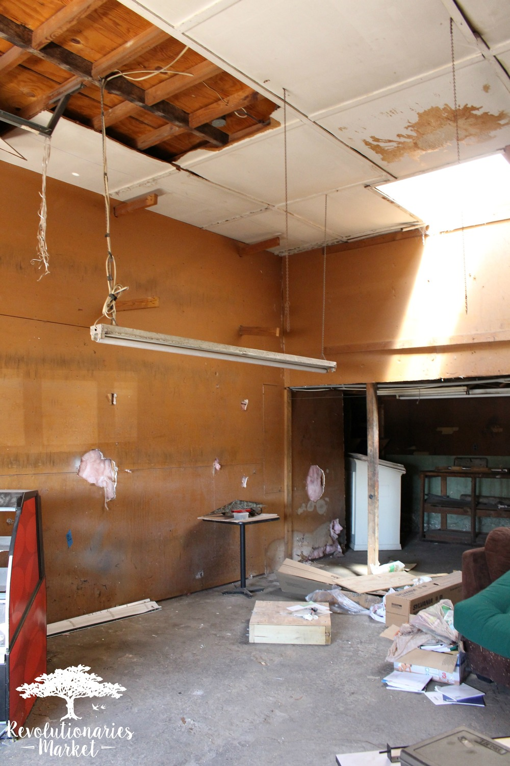 Revolutionaries Market Renovation: Before Pictures